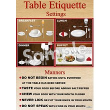 Table Settings Poster