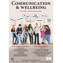 Communication wellbeing poster