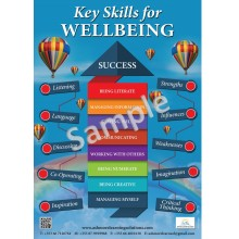 Skills for wellbeing poster