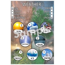 Weather- Chinese Poster
