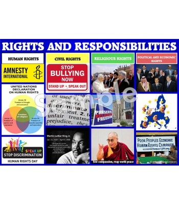 Rights and Responsibilities Poster