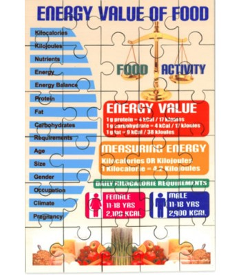 Energy of Food Jigsaw