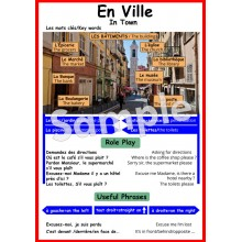 En Ville - French Poster
