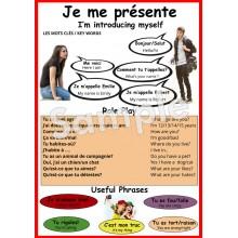 Je me présente - French Poster