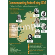 Commemorating Easter Rising 1916 Poster